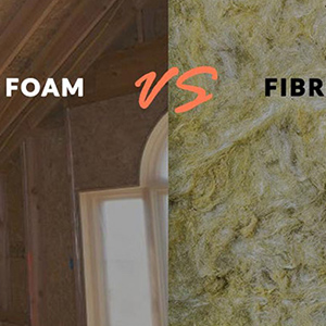 Spray Foam vs Fibre Insulation